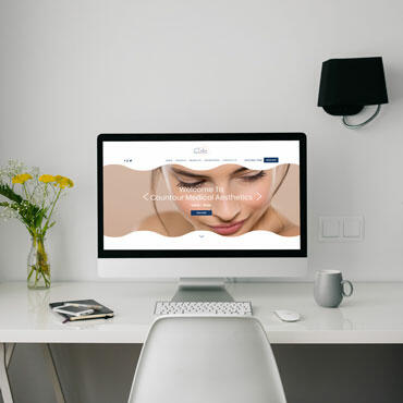 Eccentric Web Development Portfolio - Contour Medical Aesthetics