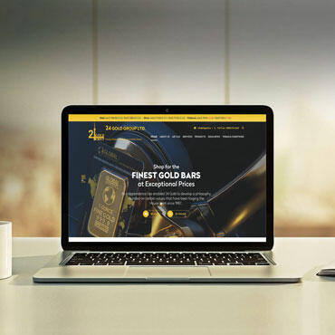Eccentric Web Development Portfolio - 24 Gold Group