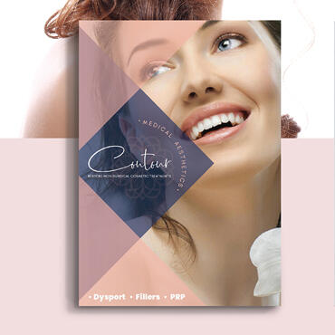 Eccentric Graphic Design Portfolio - Contour Medical Aesthetics