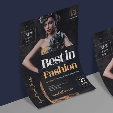 Eccentric Graphic Design Portfolio - Best in Fashions