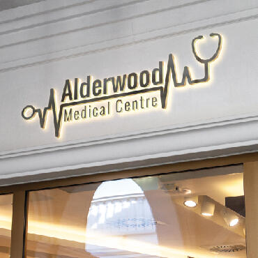 Eccentric Branding Portfolio - Alderwood Medical Clinic