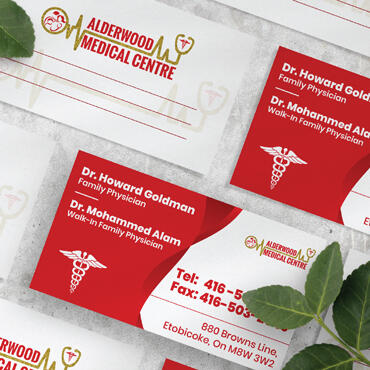 Eccentric Graphic Design Portfolio -  Alderwood medical Center