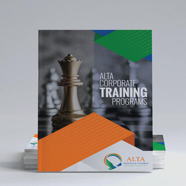 Eccentric Graphic Design Portfolio - Alta Training & Coaching