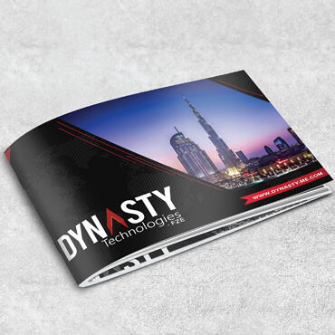 Eccentric Graphic Design Portfolio - Dynasty Technologies